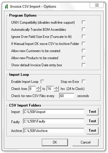 Adept sage 50 invoice csv import for Sage line 50 invoice template